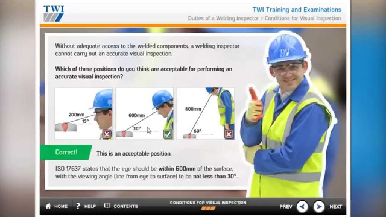 CSWIP 3 1 - Welding Inspector PLUS Theory Pre-course