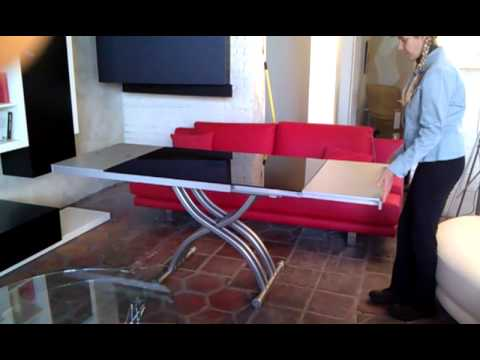Emotion Expandable And Height Adjule Coffee Dining Table
