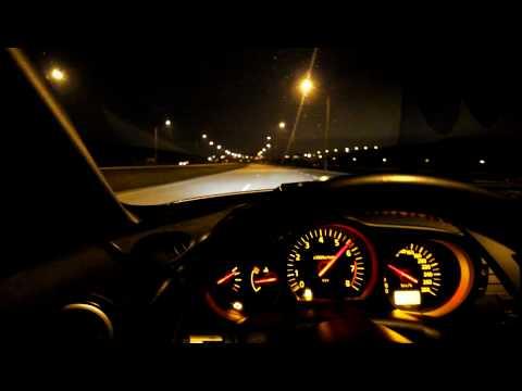 350z 0-160kmh inside drive sound