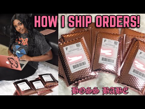 how-i-package-&-ship-orders!-|-bossed-up-ep.-3-|-life-of-an-entrepreneur