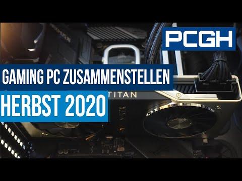 Gaming-PC Zusammenstellen Herbst 2020 | Konfigurationen 600, 1.250 Und 2.000 Euro
