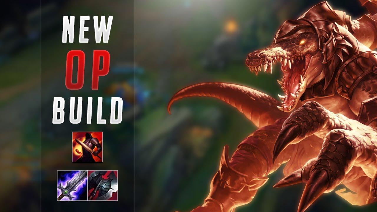 New Build Fervor Botrk Renekton Season 7 Gameplay Road To Challenger 4 Youtube