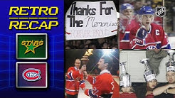 The final game at The Forum | Retro Recap | Stars vs Canadiens