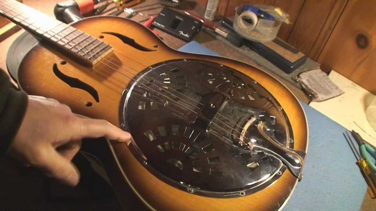 gretsch historic series resonator guitar part 1 youtube. Black Bedroom Furniture Sets. Home Design Ideas