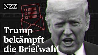Wie Donald Trump gegen die Briefwahl kämpft | Wahlen USA 2020