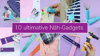 10 Näh-Gadgets, die Du kennen musst | Nastjas Nähtipps Folge #4 & VERLOSUNG!!!