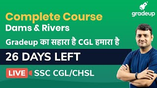 Free live Class on Dams and Rivers @ 5:30 PM