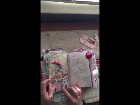 Jolly Winter Wonderland Junk Journal (SOLD. Thank you!)