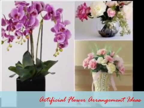 Artificial Flower Arrangement Ideas