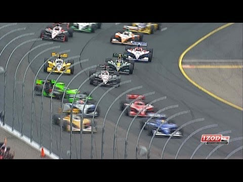 IndyCar Highlights from New Hampshire