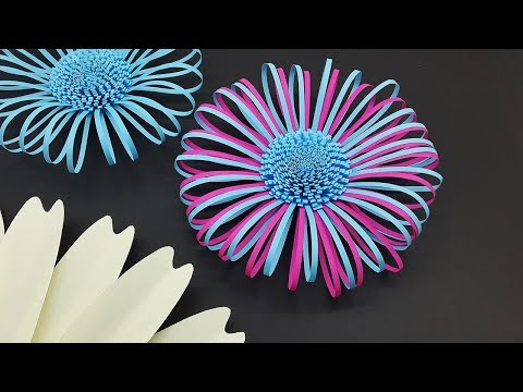 Fluffy Paper Flower Centers Making Tutorial | DIY Paper Flowers