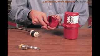 How to lockout a power plug