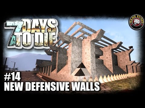 7 Days to Die | EP14 | New Defensive Walls Silo Base | Let's Play 7DTD Gameplay Alpha 15 (S5)