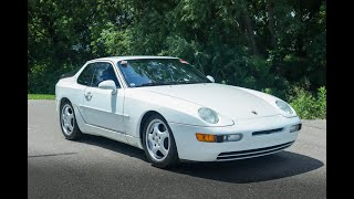 1993 Porsche 968 Test Drive