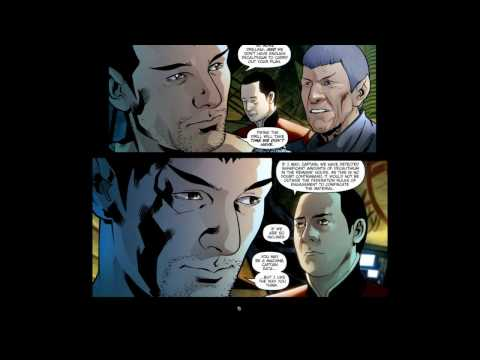 Star Trek Prequel Comic 1 - 2: The Background Story