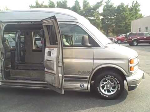 Wheelchair Accessible 1999 Chevy 1500 Explorer Luxury Conversion Youtube