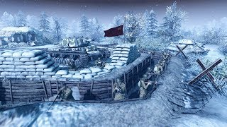 Battle of Moscow Last Stand Defense 1941 | Men of War: Assault Squad 2 Gameplay