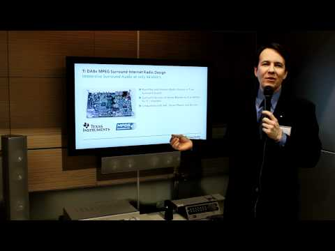 CES 2011: Fraunhofer's MPEG Surround Audio Codec