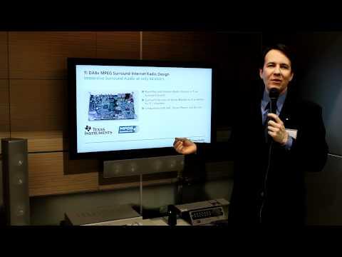 CES 2011: Fraunhofer's MPEG Surround Audio Codec