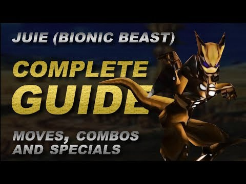 Dual Heroes - JUIE COMPLETE GUIDE (moves, combos and specials!) [Texture Mod]