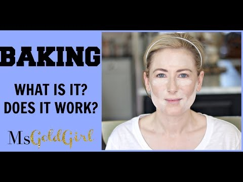 Baking Your Face | What Is It | Does It Work | MsGoldgirl