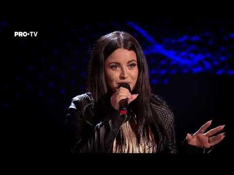 Anne-Marie Ionescu - Love On The Brain   Auditiile Pe Nevazute   Vocea Romaniei 2017