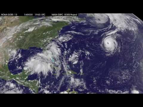 Satellite Tracks Trio of Tropical Systems in Atlantic
