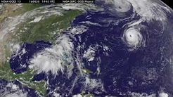 Satellite Tracks Trio of Tropical Systems in Atlantic