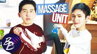 E42💋 Massage Devices Review with Woojong || BeautyBeasts