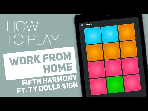 Thumbnail: How to Play: WORK FROM HOME (Fifth Harmony ft. Ty Dolla $ign) - SUPER PADS - Labuta Kit