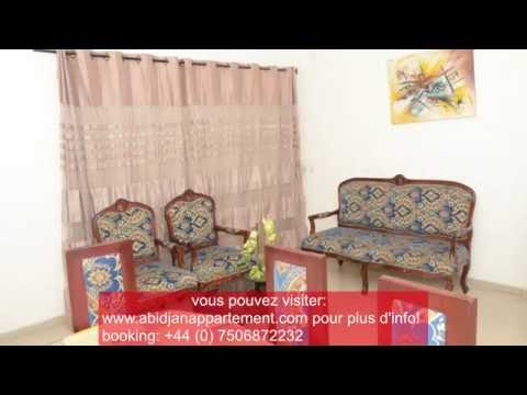 ABIDJAN HOLIDAY HOMES TRES BELLE VILLA DUPLEX MEUBLEE COCODY