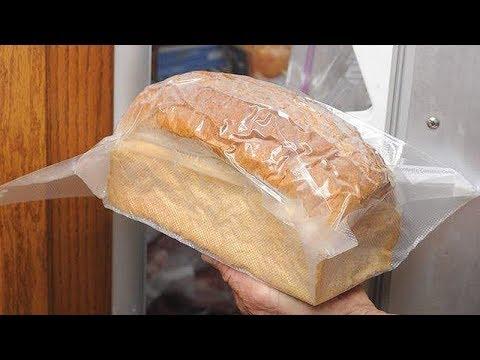 Вопрос: Как разморозить хлеб?