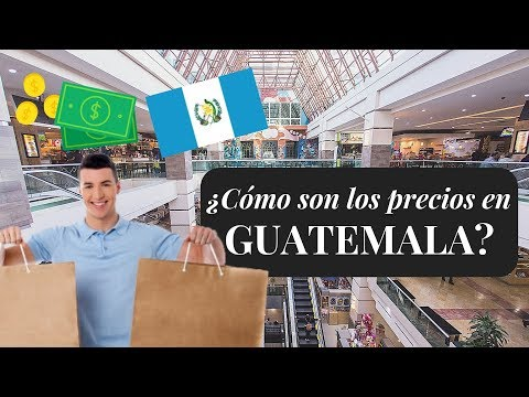 ¿Ir de COMPRAS a Guatemala es BARATO?