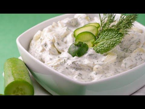 Cucumber yogurt salad recipe youtube cucumber yogurt salad recipe forumfinder Image collections