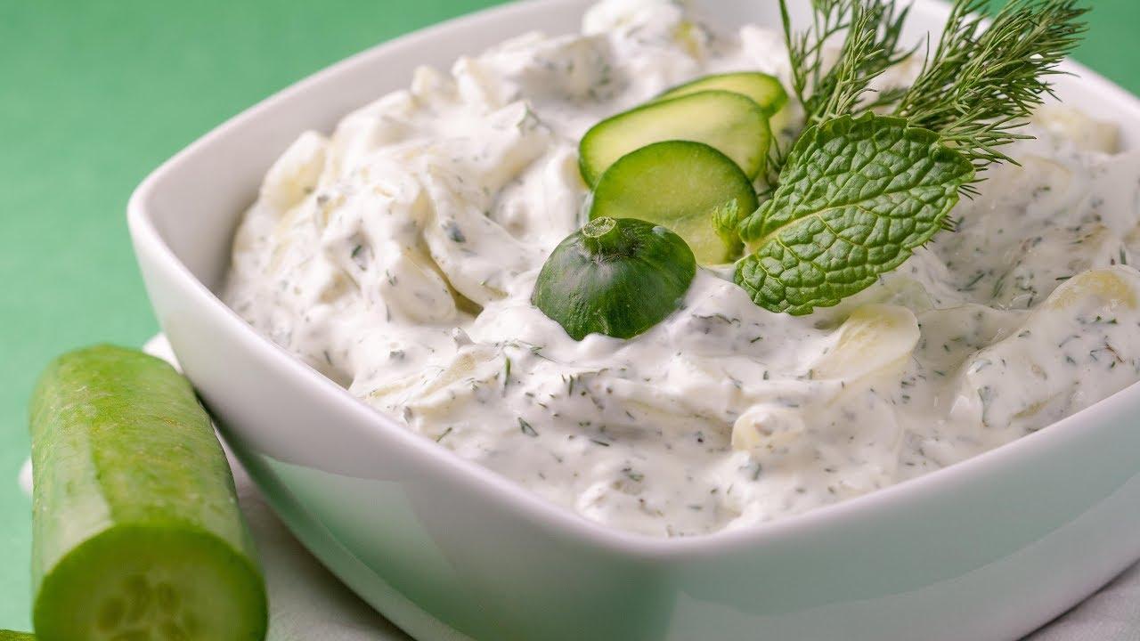 Cucumber Salad Recipe Greek Yogurt