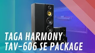 Taga Harmony TAV 606 SE 5.0 Ch Speaker Package - Quick Look India