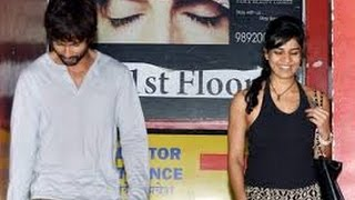 Shahid Spotted With A Mystery Girl - Bollywood Latest News