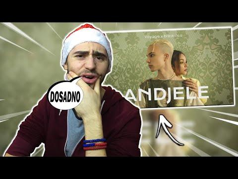 *reakcija* Voyage x Breskvica – Andjele (Official Video) Prod. By Ramoon  *sad kad nisam poludeo*