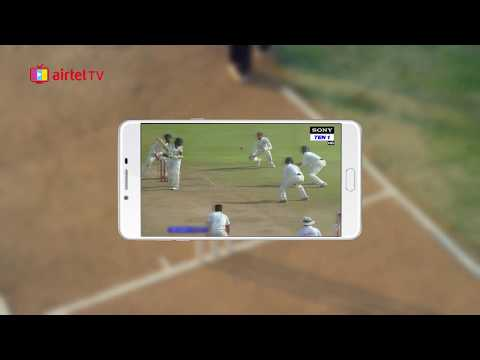 Airtel TV App: Watch Cricket LIVE on Your Mobile