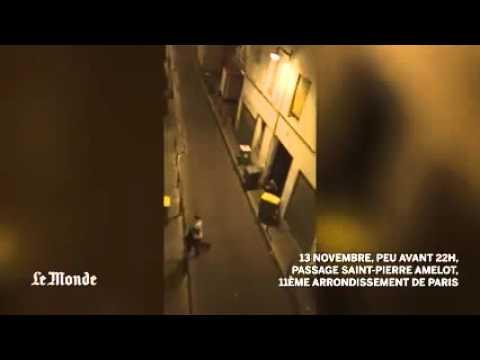 Un journaliste du Monde filme la fuite des spectateurs pendant la fusillade du Bataclan...