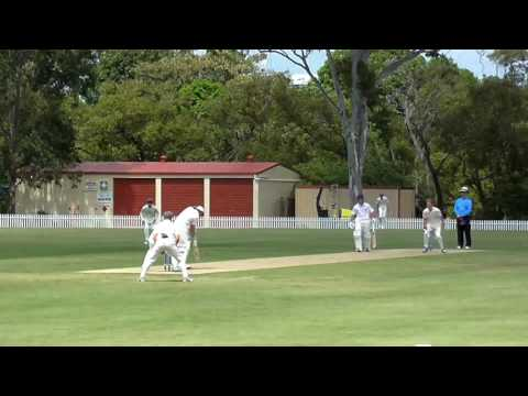 GPS Cricket - Nudgee Batting vs Churchie (March 2017)
