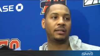 Carmelo Anthony and Joakim Noah talks Knicks ...