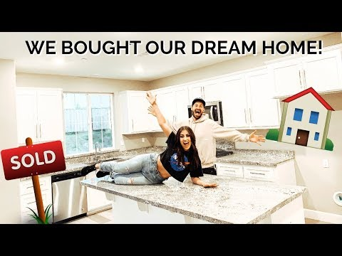 EMPTY HOUSE TOUR: OFFICIAL NEW HOME TOUR of our DREAM HOME!