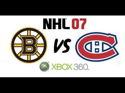 NHL 07 - Boston Bruins vs Montreal Canadiens