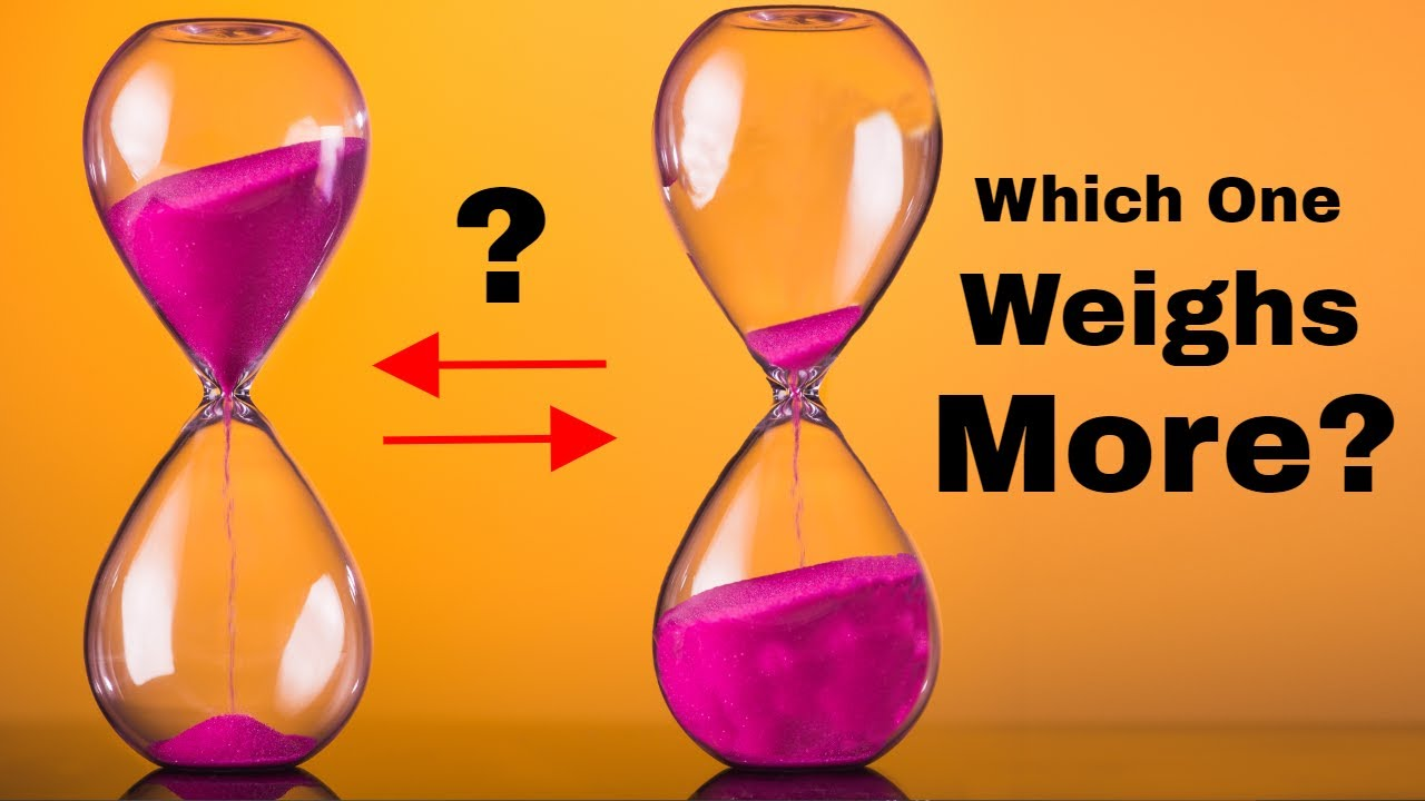Can You Figure Out The Hour Glass Buoyancy Problem?