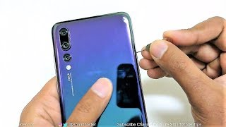Huawei P20 and P20 Pro - How to Insert SIM Cards