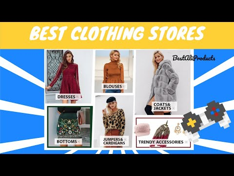 Top 5 Clothing Stores for Women on Aliexpress | Best Selling