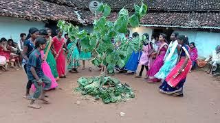 Karam puja kr chain dance tainda gonjhubasti 2018