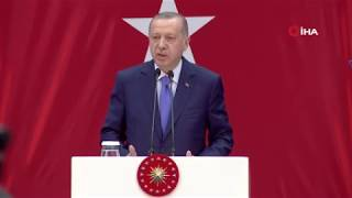 Cumhurbaşkanı Erdoğan Fenerbahçe Divan Kurulu'nda konuştu (1)