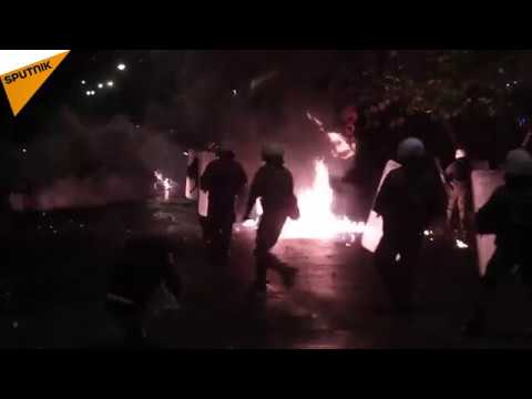 Greece: Anniversary of the Athens Polytechnic Uprising Turned Into a Riot